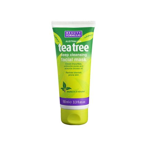 Tea Tree Mask 100ml formulas tea tree cleansing mask 100 ml