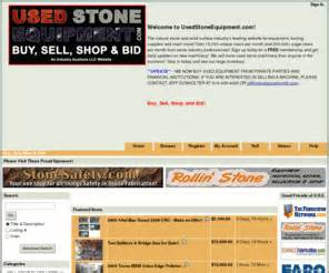 bid or buy shopping usedstoneequipment usedstoneequipment buy sell