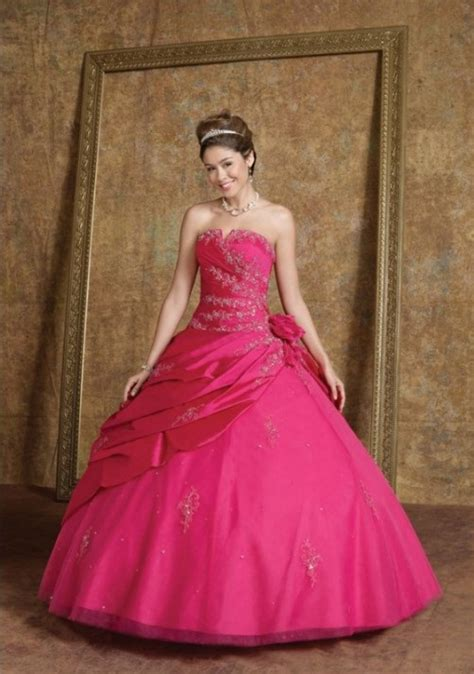 fuschia dress picture collection dressedupgirlcom