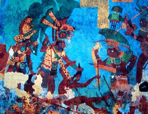 imagenes de murales mayas literatura y mundo maya los murales mayas conferencia