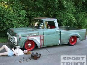 1959 Ford Truck 1959 Ford F100 Custom Truck Rat Rod Sport Truck Magazine