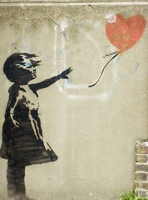 justin bieber tattoo balloon girl justin bieber in trouble with street artist banksy for