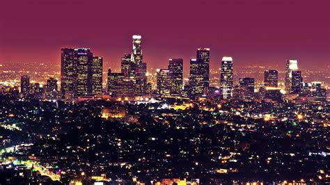 night lights los angeles cities wallpaper