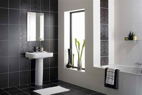 small black and white bathrooms ideas monochromatic small bathrooms designs