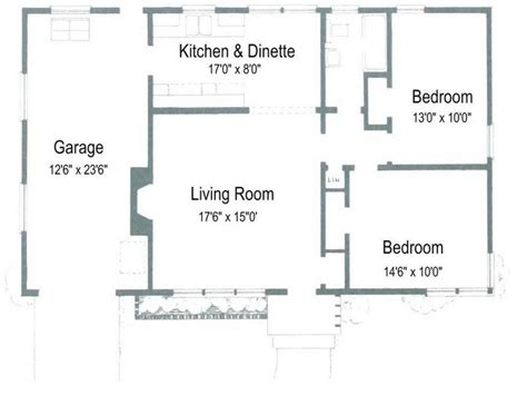 simple 2 bedroom floor plans small two bedroom house plans simple two story house two
