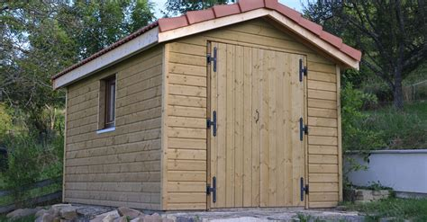 Maisonnette Bois 1296 by Plan Cabane Jardin Ossature Bois Strasbourg Maison