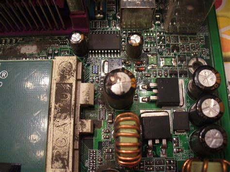 symptoms of a bad capacitor on a motherboard image gallery motherboard capacitors