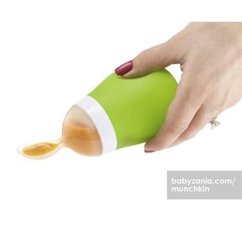 Green Hijau Munchkin Squeeze Botol Sendok Makanan Bayi 1 jual murah munchkin squeeze spoon green feeding nursing di jakarta