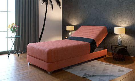 מיטת יחיד אורטופדית עם ראש מתכוונן ram design גרופון