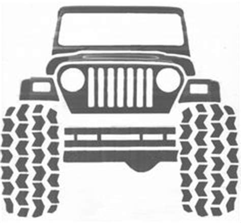 jeep wrangler front drawing pics clip and jeeps on