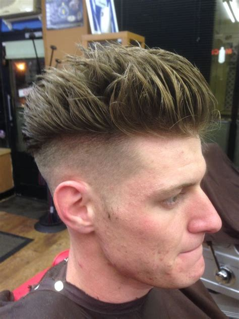 fresh cut hair fresh cut high fade quiff cool hair style