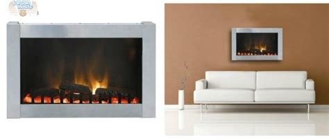 Paramount Electric Fireplace by Home Depot Paramount Dresden Stainless Steel Wall Mount