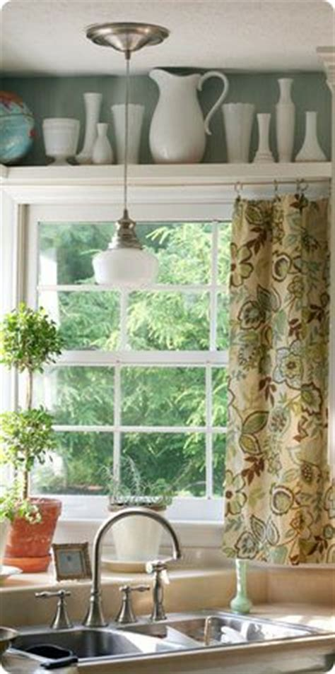 1000 images about curtains kitchen sink on