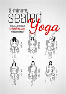 Leg Exercises Sitting At Desk 25 Best Ideas About Office Yoga On Pinterest Workout At