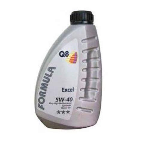 Oli Q8 5w 40 Q8 Formula Excel 5w 40 Superior Performance Fully