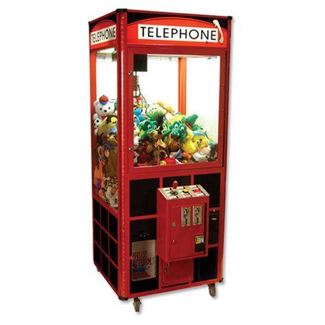 Machine Claw 30 quot telephone plush crane claw machine w dba ebay