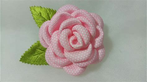 Bunga Pita Kanzashi Pipit Umayah 94 tutorial bros bunga mawar kanzashi ribbon