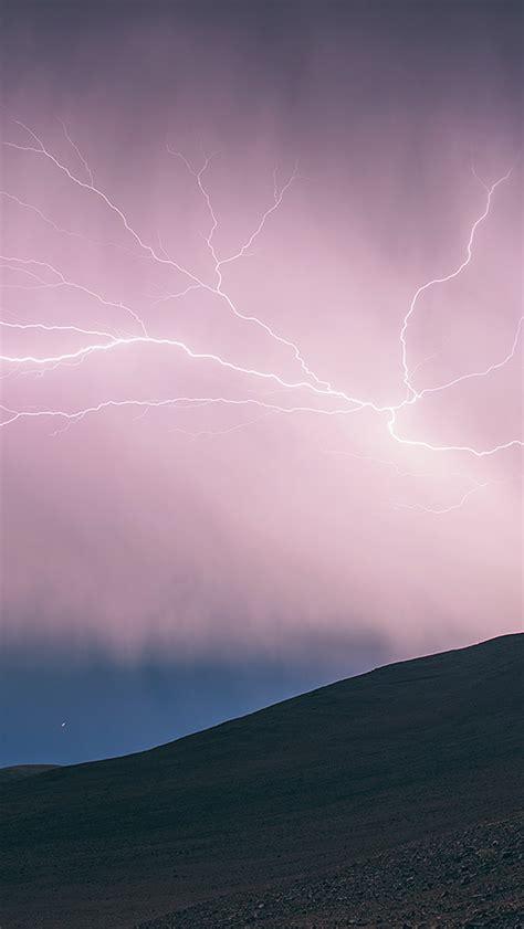 apple wallpaper lightning freeios7 thunder lightning parallax hd iphone ipad