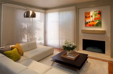 Living Room Horizontal Blinds Types Of Window Blinds