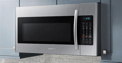 lg  samsung microwave reviews   range models