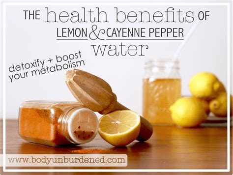 Lemon Honey Cayenne Pepper Detox Recipe by The Health Benefits Of Warm Lemon Cayenne Pepper Water