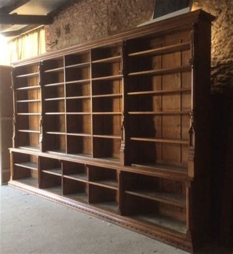 A Large Gothic Oak Bookcase 265086 Sellingantiques Co Uk Vintage Bookshelves For Sale