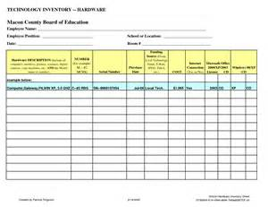 Computer Equipment Inventory Template by Best Photos Of Inventory Worksheet Template Blank Excel