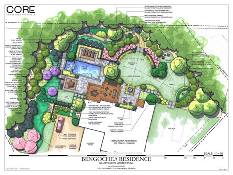 backyard landscape plan roswell backyard transformation jones pierce