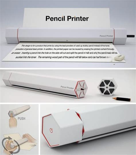 Print Pencil get the lead out cartridge free erasable pencil printer