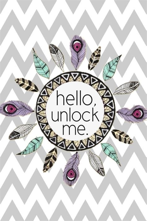 Unlock Wallpaper Tumblr | tribal lock screen iphone wallpaper i p h o n e w a l l
