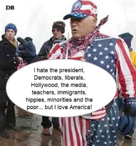 The Fair-weather American Hate Americans