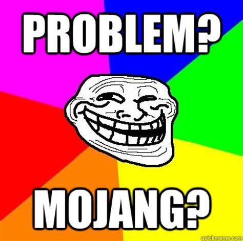 Add Meme Face To Photo - problem mojang troll face quickmeme