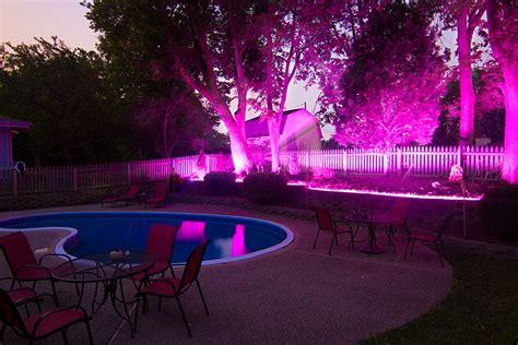 pink outdoor lights outdoor led lights pink 12v led light w
