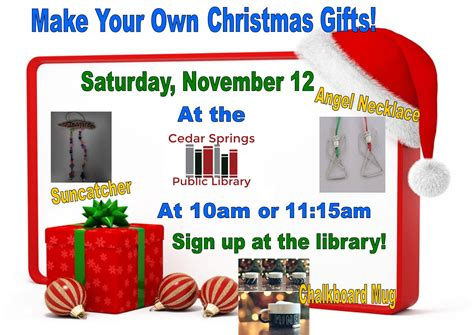 make your own christmas gifts