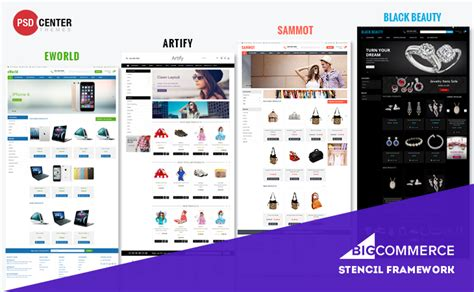 bigcommerce template variables gallery templates design