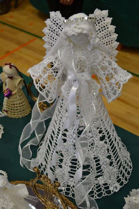 images  crochet angels  pinterest  pattern christmas angel ornaments