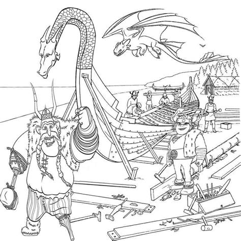 coloring pages train dragon how to train your dragon color pages