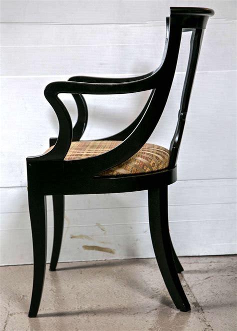 Regency Style Dining Chairs Set Of Six Regency Style Dining Chairs At 1stdibs