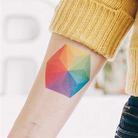 tattoo geometric colour 40 inspiring gay pride tattoo designs amazing tattoo ideas