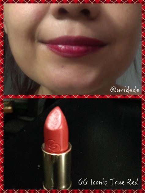 Lipstik Oriflame Giordani Gold review giordani gold iconic lipstick