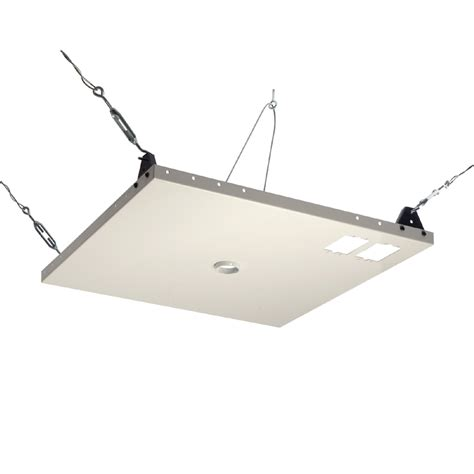 ceiling drop tv mount peerless heavy duty 2x2 foot suspended ceiling plate for tv mounts cmj450