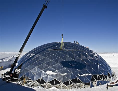 Geodesic Dome Home by The Antarctic Sun News About Antarctica Deconstruction