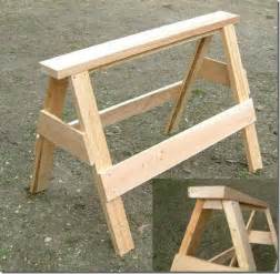 Diy plywood saw horses wooden pdf chair woodworking plans