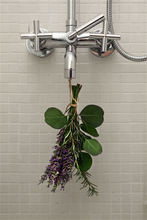 fresh idea for a shower eucalyptus rosemary