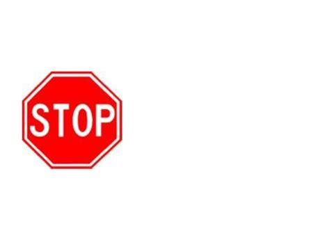stop sign template stop sign template clipart best