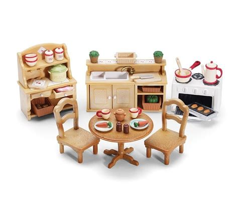 kitchen set furniture calico critters deluxe kitchen set furniture accessories