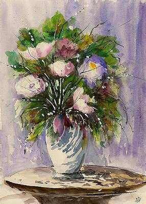 foto vasi di fiori bluoltremare vasi di fiori vases of flowers