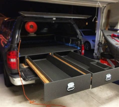 truck bed drawer system tacoma 374 best images about truck drawers on bed
