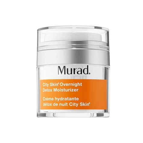 City Skin Overnight Detox Moisturizer by Kem Dưỡng T 225 I Tạo V 224 Giải độc Da Ban đ 234 M Murad City Skin