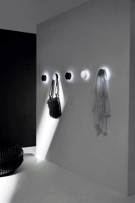 led light coat hooks light hanger modern wall hooks